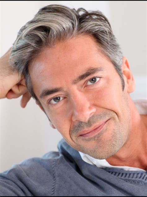 mens hair styles to hide grey area mens grey hairstyles hairstyle for women man