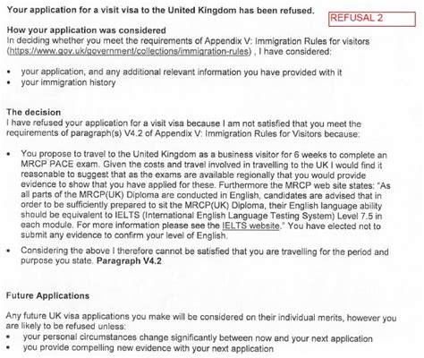 Explanation Letter For Visa Refusal Uk Possibility Of Refusal Of A Standard Visitor Visa Due To Deception Travel Stack Exchange