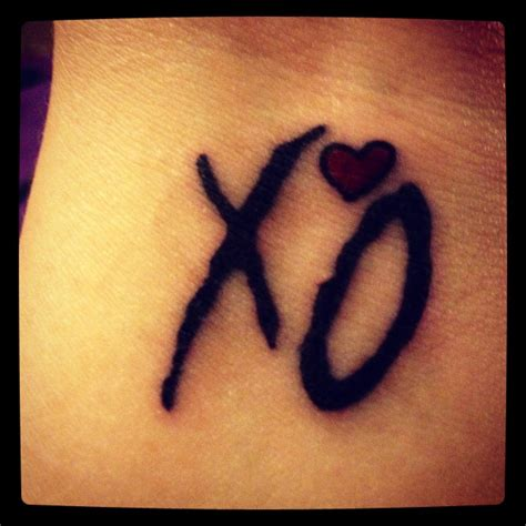 xo tattoo ideas the weeknd my style