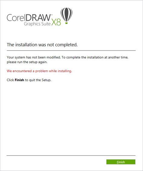 corel draw x4 error reading file download ica msi corel draw x5
