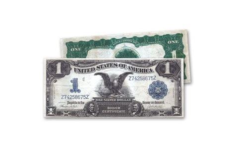 1 dollar black eagle 1899 1 dollar silver certificate black eagle vf govmint