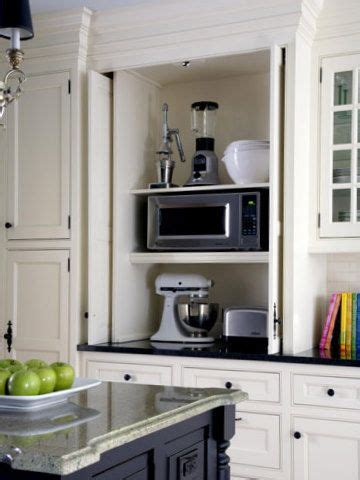 great workable design  hide small appliances