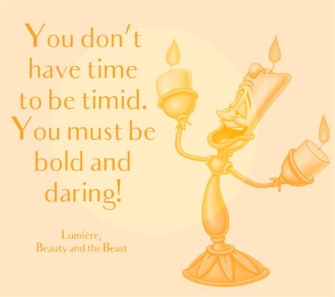 A Time To Be quot you don t time to be timid you must be bold and