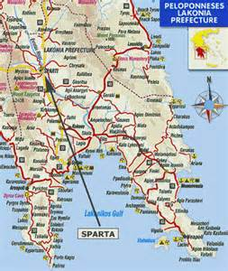 maps of sparta