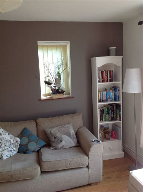 color lounge feature wall in our living room paint colour dulux