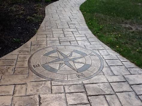 pattern imprinted concrete ideas page 22 home improvement and interior decorating design