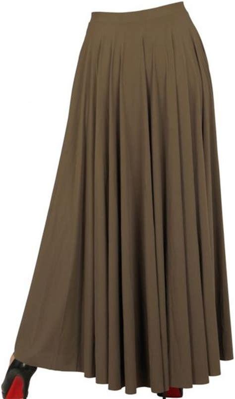 lanvin pleated lycra skirt in khaki lyst