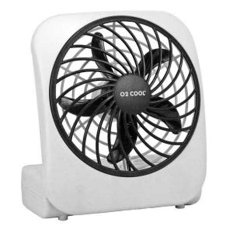 Battery Fan Home Depot by O2cool 5 In Battery Operated Portable Fan Fd05004 The