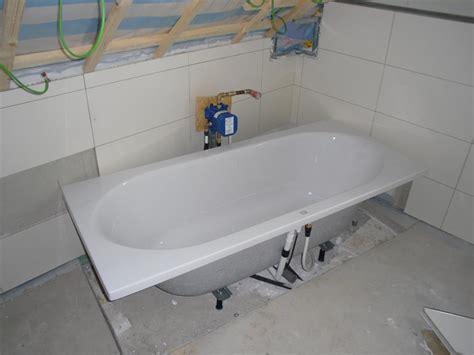 badewanne montage badewannen armaturen aufputz gispatcher