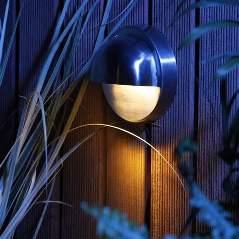 techmar palm 12v led garden wall light