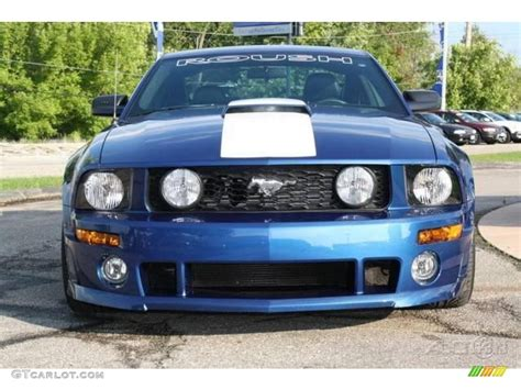 2007 ford mustang roush 427r specs 2007 vista blue metallic ford mustang roush 427r
