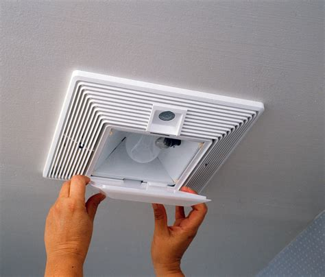 how to change bathroom exhaust fan light how to replace a bathroom fan with light install a