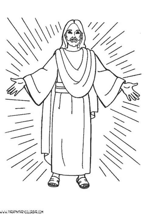 imagenes de la vida de jesus para pintar dibujos para colorear maestra de infantil y primaria