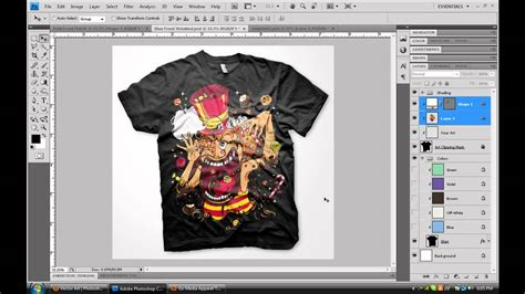 design clothes have them made create custom digital apparel photoshop tutorial youtube