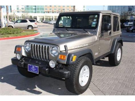 2005 Jeep Wrangler Specs 2005 Jeep Wrangler Rubicon 4x4 Data Info And Specs