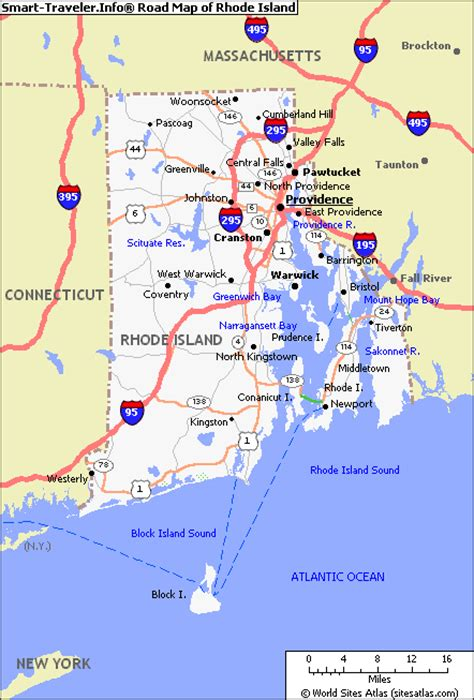 road island usa map road map of rhode island