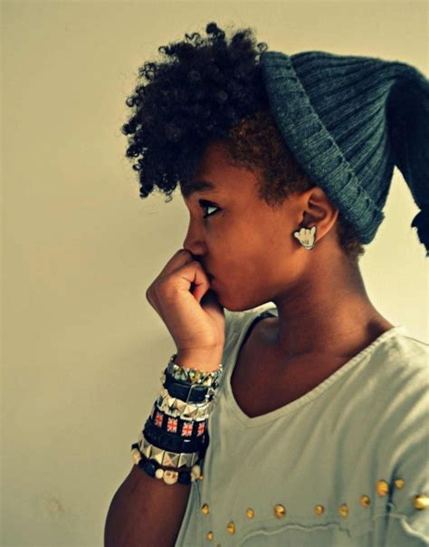 pictures of short hair twists you can rock for african hair 5 ways to rock a beanie on your natural hair this winter