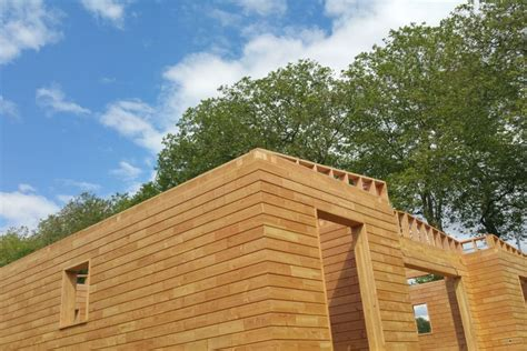 Wooden Bricks build house without nails or screws thanks to brikawood