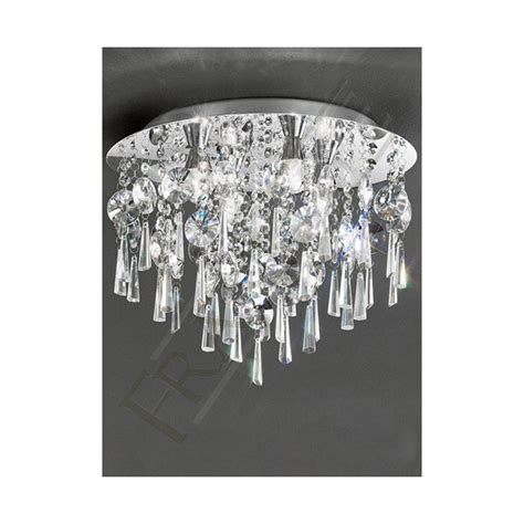crystal bathroom ceiling light cf5719 bathroom ceiling light crystal 4 light ceiling