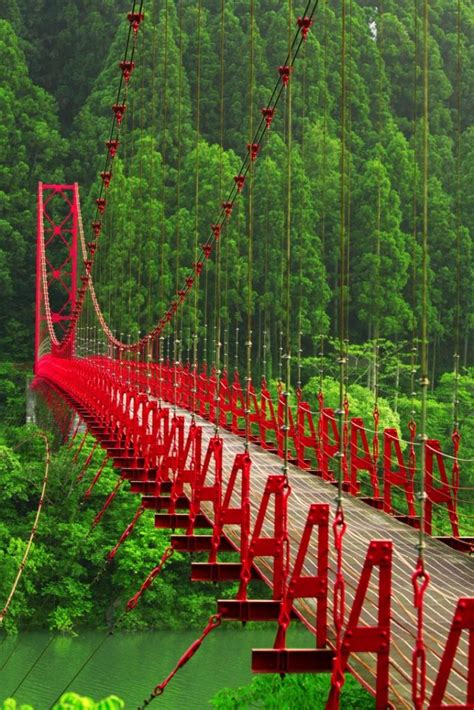 swinging japan 10 scary but cool bridges in the world