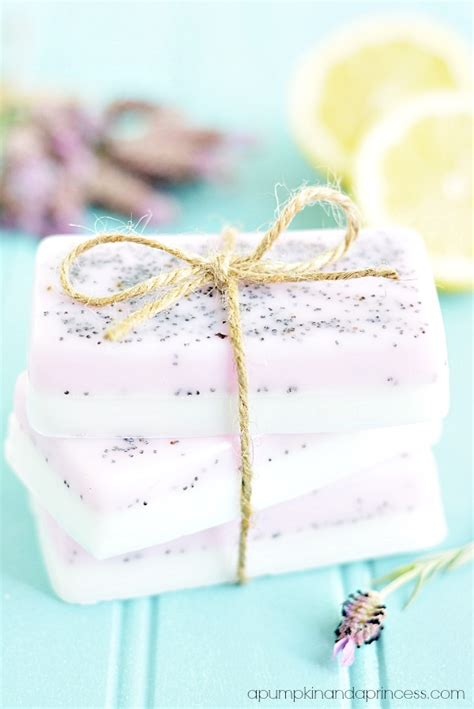 Handmade Lavender Soap Recipe - lavender lemon soap a pumpkin and a princess