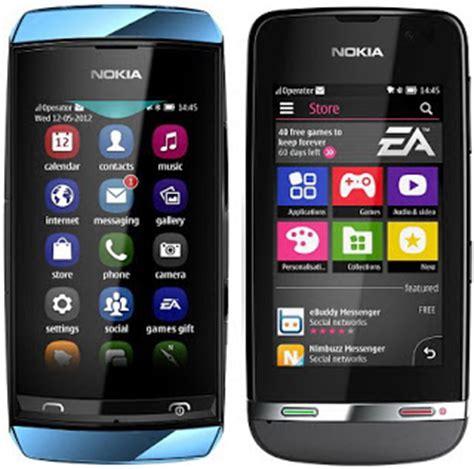 Hp Nokia Asha Androit 7 harga hp nokia dual sim card murah terbaru the knownledge