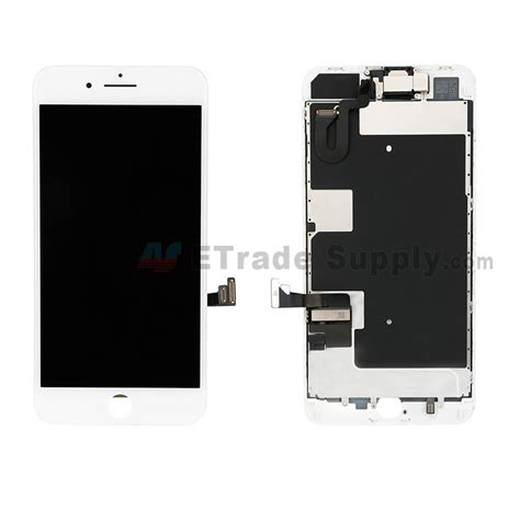 apple iphone 8 plus lcd screen and digitizer assembly with small parts without home button