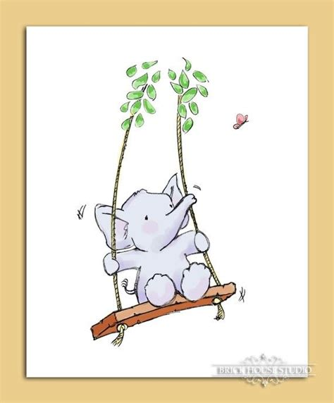 Baby Elephant Swing 1000 Ideas About Swing On Weeping