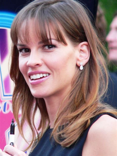 Hilary Swank Looks Great Until You Get To The by Anexo 211 Scar A La Mejor Actriz Wikiwand
