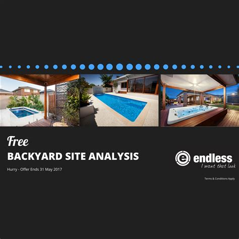 free backyard site analysis offer ends may 31st