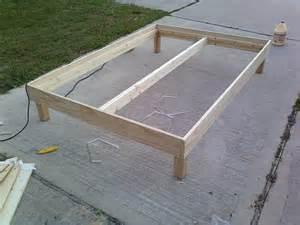 Make A Bed Frame From Wood This Week In The Shop A Bed Frame Woodshopcowboy