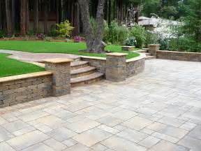 Backyard Decks Designs Calstone Stone Paving Driveway Pavers Retaining Wall