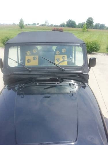 1995 jeep wrangler soft top for sale find used 1995 jeep wrangler yj 2 5l 5 speed manual soft