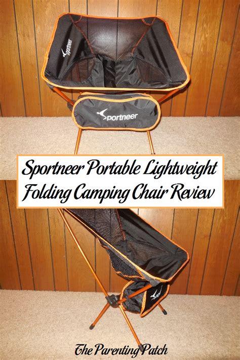 sportneer portable lightweight folding cing chair