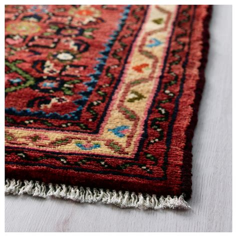 Persisk Hamadan Rug Low Pile Handmade Assorted Patterns Hamadan Rug