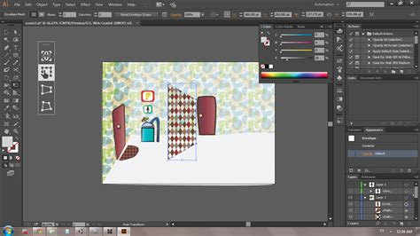 illustrator free transform tool and pattern graphic how can i transform patterns in illustrator to simulate a