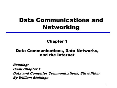 Data Communications And Networking ppt data communications and networking powerpoint