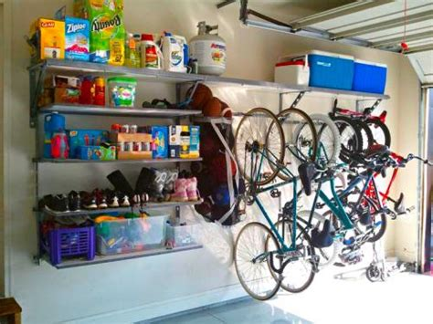 how to organize garage shelves how to organize on a budget monkey bar storage