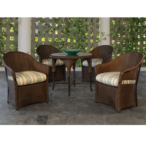 lloyd flanders freeport 5 wicker dining set with
