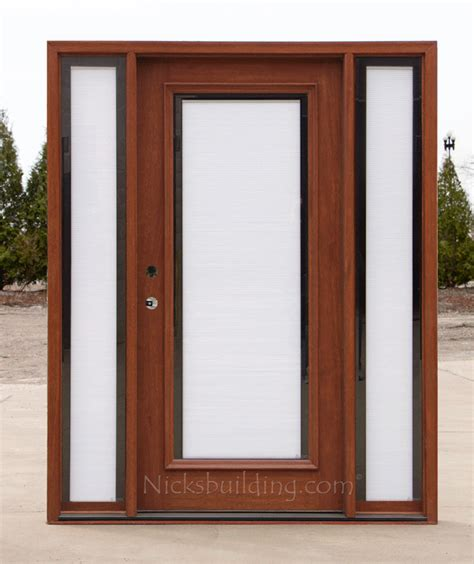 Front Door Blinds And Front Doors Creative Ideas Front Blinds For Front Doors With Glass