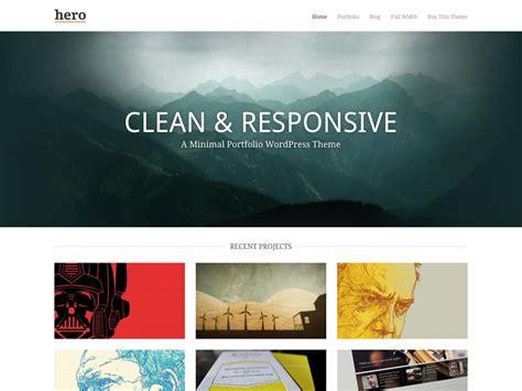 minimalist design banner 85 new wordpress themes to inspire you webdesigner depot