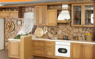 Kitchen Cabinet Wallpaper by Beautiful Kitchen Wallpapers