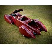 Deco Rides Generation 2 Boattail Speedster  Rear Angle