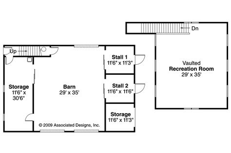 barn floor plan country house plans barn 20 059 associated designs