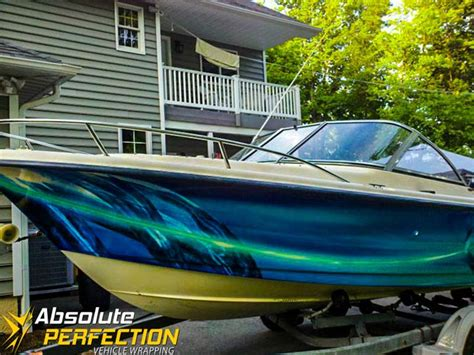 absolute perfection boat wrap westminster maryland - Boat Wraps Maryland
