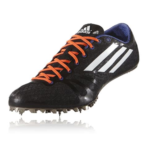 track shoes with spikes adidas adizero prime mens black running track field spikes
