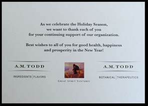 business greeting card messages custom corporate greeting cards by albion design