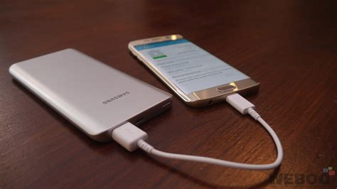 samsung 5200mah external power bank a match for the galaxy s6 edge review weboo