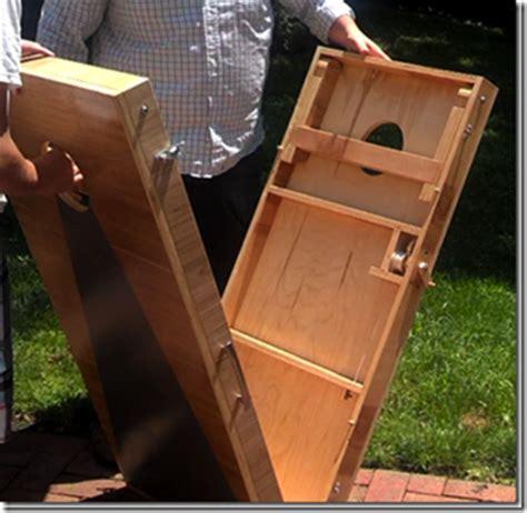 engineered cornhole boards  twine measuring