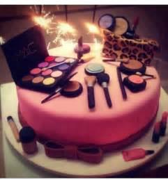 makeup birthday cake birthday pinterest